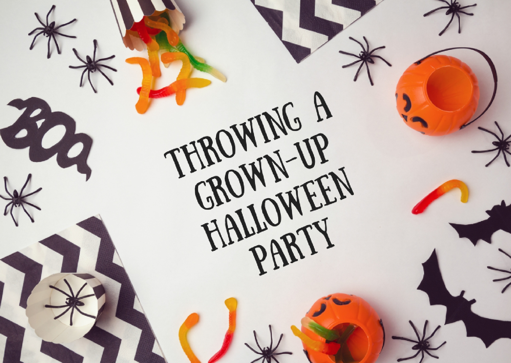 Grown up halloween party