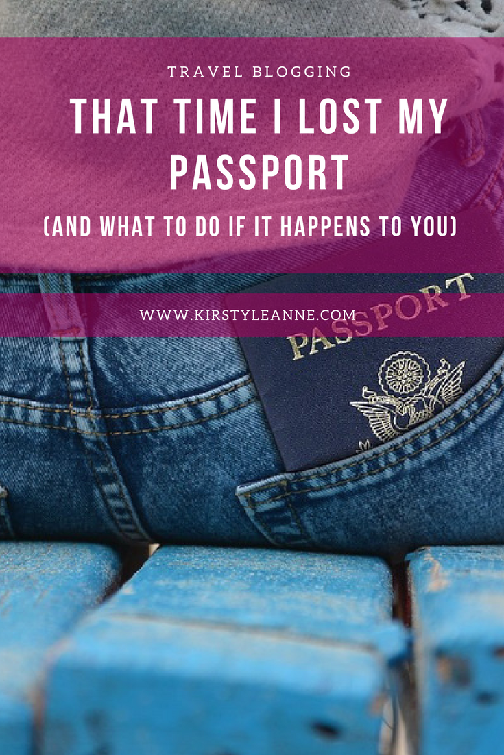 That Time I Lost My Passport