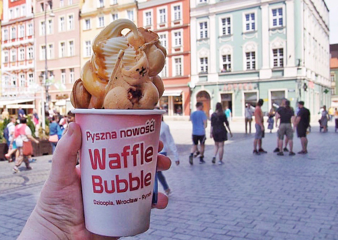 bubble waffle wroclaw